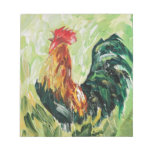 Colourful Keith the RoosterRooster Memo Note Pad