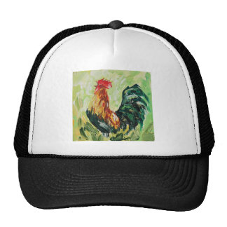 Colourful Keith the RoosterRooster Trucker Hat
