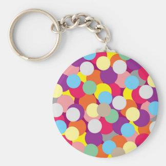 Colourful key chain