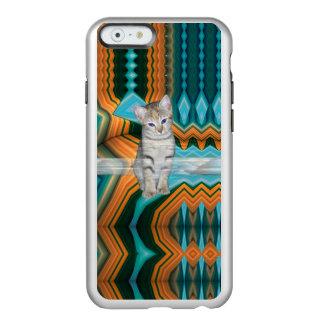 Colourful Kitten Matrix iPhone Case