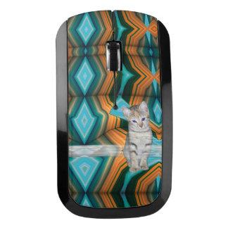 Colourful Kitten Matrix Wireless Mouse
