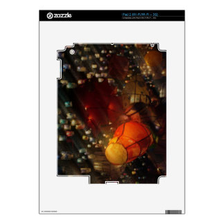 Colourful Lanterns Decal For The iPad 2