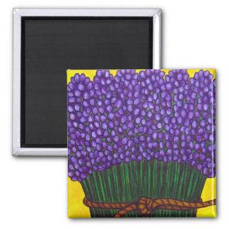 Colourful Lavender Magnet