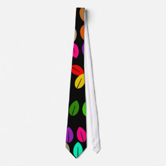 Colourful Leaf Tie