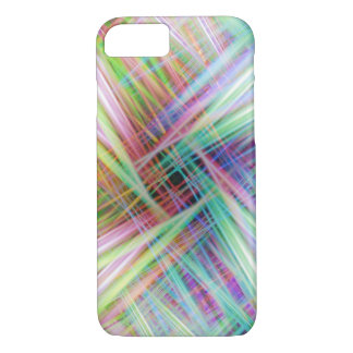 Colourful light trails pattern iPhone 8/7 case