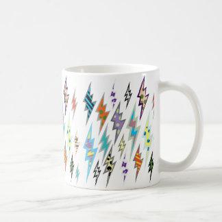 Colourful Lightning Bolt Coffee Mug