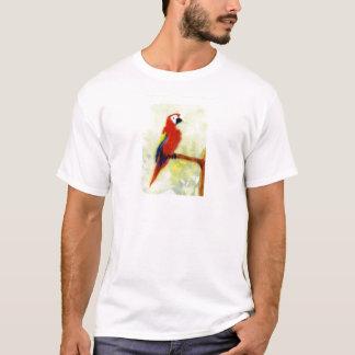 Colourful Macaw Bird Art T-Shirt