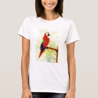 Colourful Macaw Bird T-Shirt