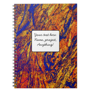 Colourful Marble 3 Stone Texture Note Books