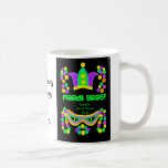 Colourful Mardi Gras Coffee Mug to Personalize