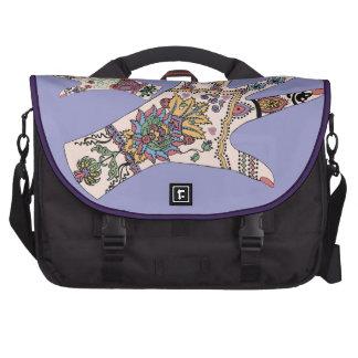 Colourful Mehndi hand Laptop Bags