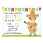 Colourful Mexican Fiesta Kids Birthday Party Card