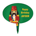 Colourful Military Drummer Soldier for Kids Cake Pick