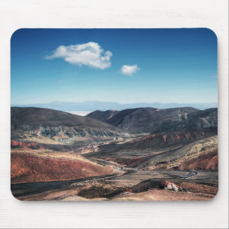 Colourful Mountain Valleys Around Salt Flats Mouse Pad