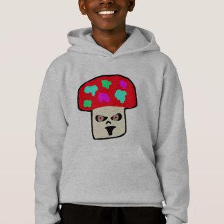 colourful mushroom hoodie