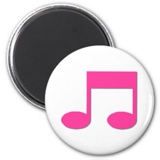 Colourful Music Note Magnet