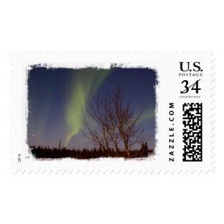 Colourful Northern Sky Postage