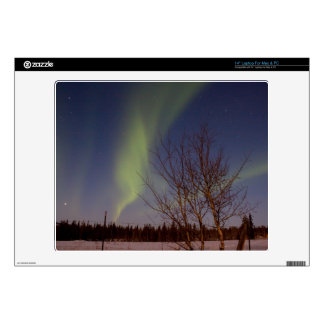 Colourful Northern Sky Decal For Laptop