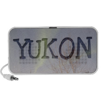 Colourful Northern Sky; Yukon Territory Souvenir Mini Speaker