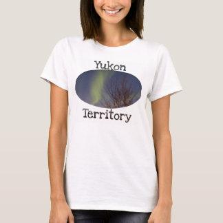 Colourful Northern Sky; Yukon Territory Souvenir T-Shirt