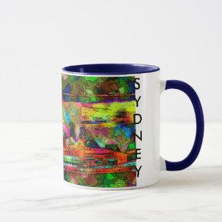 colourful opera house, SYDNEY Mug