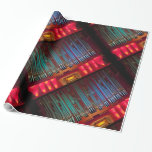 Colourful organ wrapping paper