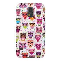 Colourful Owl Pattern For Kids 2 Case For Galaxy S5