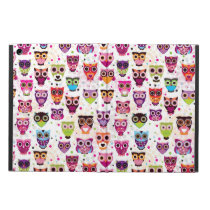 Colourful Owl Pattern For Kids 2 Case For iPad Air
