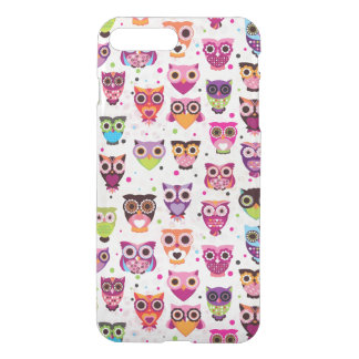 Colourful Owl Pattern For Kids 2 iPhone 8 Plus/7 Plus Case