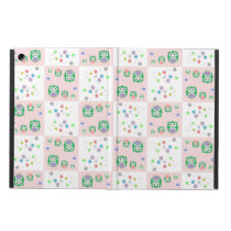 Colourful Owl Pattern For Kids iPad Air Case