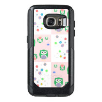 Colourful Owl Pattern For Kids OtterBox Samsung Galaxy S7 Case
