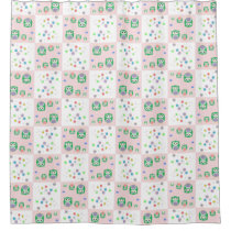 Colourful Owl Pattern For Kids Shower Curtain