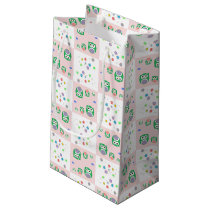 Colourful Owl Pattern For Kids Small Gift Bag