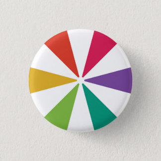 Colourful Pattern 6 Colours Button