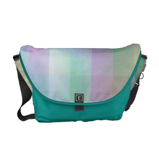 Colourful pattern courier bag