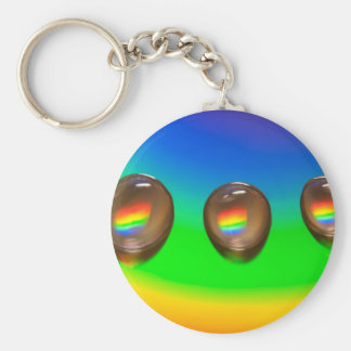 Colourful Pattern Products Keychain