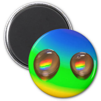 Colourful Pattern Products 2 Inch Round Magnet