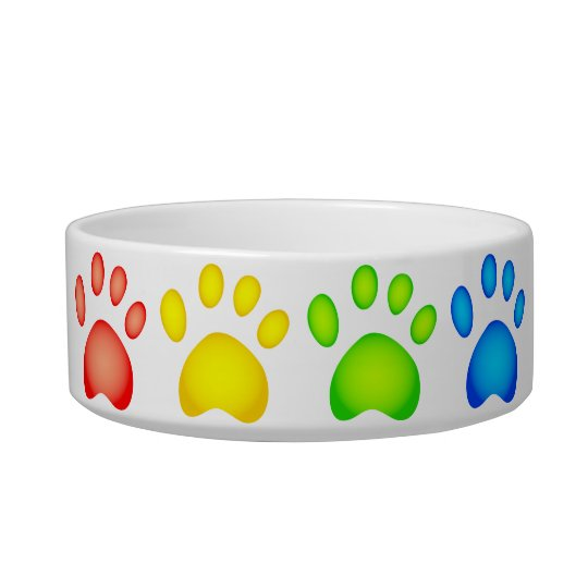Colourful Paws Bowl