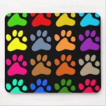Colourful Paws Mouse Pads