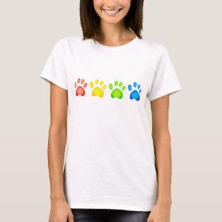 Colourful Paws T-Shirt