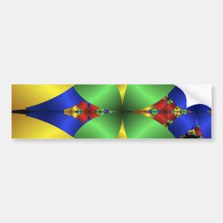 colourful_petals bumper stickers