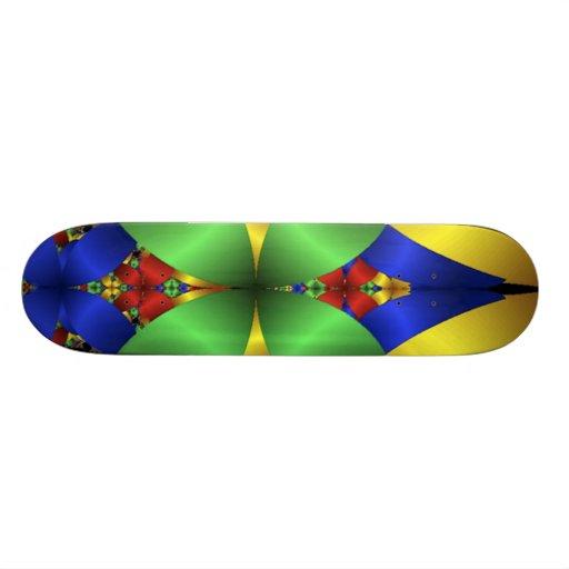 colourful_petals custom skateboard