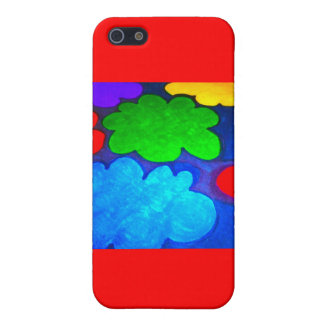 Colourful Popcorn Clouds Cover For iPhone 5