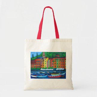 Colourful Portofino, Italy by Lisa Lorenz Tote Bag