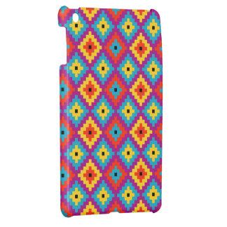 Colourful Primitive Mayan Bricks Pattern Cover For The iPad Mini