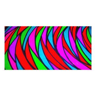 Colourful Scales - alt Photo Card