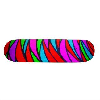 Colourful Scales - alt Skate Board