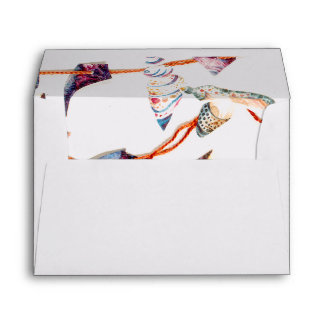 Colourful Seashells | Beach Wedding Envelopes