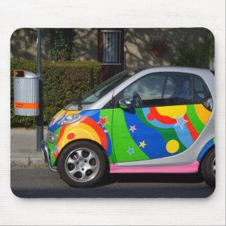 Colourful Smart Car Mouse Pad