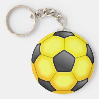 Colourful Soccer Balls Keychain